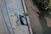 Old bunker entrance (Felix Bittner) Tags: old left steel abandoned nature military facility entrace door