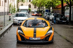 Wating for the big brother. (Giuliano Zentini) Tags: mclaren 675lt 675 lt longtail v8 orange p1 hypercar hybrid british