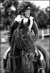 Focus (Donna Rowley) Tags: friend team focus determination concentration horse equestrian xc crosscountry jumping pony sport action