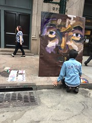 Only on the streets of... (Mr. Dillinger) Tags: streetartist grandcentralterminal