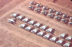 Fly Navy (Al Henderson) Tags: grumman phantom storage boneyard amarc tucson tomcat davismonthanafb usaf aviation military mcdonnelldouglas arizona unitedstatesnavy f14 usn f4 unitedstates us