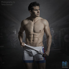 Zach Asher NFM (TerryGeorge.) Tags: natural fitness models abs six pack workout toned athletic muscle underwear male model shirtless ripped terry george photography leeds nfm zack