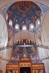 DSC_8523 (AndrewGould) Tags: orthodox dome fresco mural iconography byzantine russian holy ascension