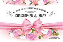 Advertising (punchysites) Tags: wedding invite invitation celebration design greensboro north carolina advertising punchysites flyer social media