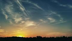 The Sunset/Beautiful Day (Damon Vincent) Tags: sunset galaxy s5 galaxys5samsung