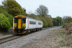 No 156412 2nd May 2015 Nacton (Ian Sharman 1963) Tags: train branch diesel no may engine rail railway trains class line 2nd multiple greater passenger railways felixstowe ipswich 156 unit anglia sprinter 2015 dmu nacton abellio 156412