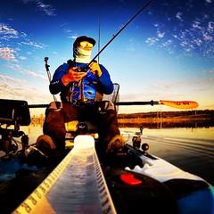 On the water #jc1scastaway #fishing #kayakfishing #feelfreekayak #humminbird #daiwa #zilliontws #hammerrods #garminvirb #kayakbassleague