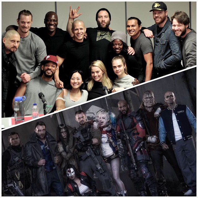 Suicide squad has assembled, I have to say I am looking forward to this. #SuicideSquad #GearUp #BeforeAndAfter #DavidAyer We saw David Ayer tweet out Jared Lettos Joker and now we get the Suicide Squad in gear. What do yall think? Let me know in the