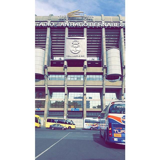 سنتياقو برنابيو ❤️ 6-5-2015 / #madrid #halamadrid #hala_madrid #realmadrid #real_madrid #spain #spanyola #happy #hi #cold #freezing #lovely #lol #اسبانيا #مدريد #ريال_مدريد #برد #وناسه #لول #انتركونتيننتل #cool #santiago