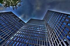 Angles (Maria Eklind) Tags: blue sky architecture buildings angles malmö byggnad clarionhotel vinklar fotosondag malmölive fs150510