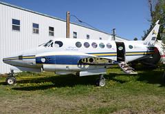 C-GSYN (John W Olafson) Tags: airplane derelict beech reddeer scrapped buffalojoe kingair100 cgsyn louieameralik