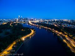 longexposure philadelphia skyline night still... (Фото General Toner на Flickr)