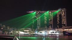 Singapur (Don Web) Tags: show city green night marina bay singapore asia asien nacht resort stadt laser grün sands singapur