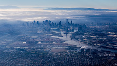 Final descent to Melbourne (sandergroffen) Tags: