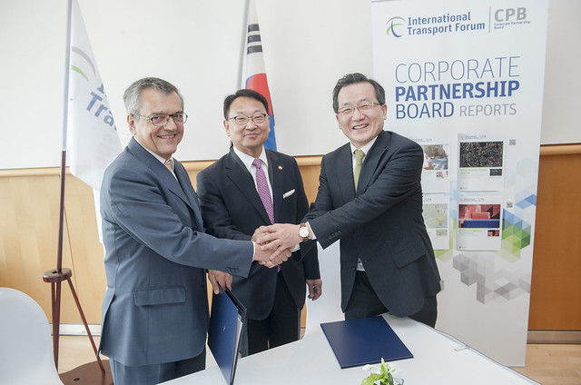 Welcoming Incheon Airport to ITF's Corporate Partnership Board