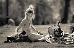London sunshine (dtapkir) Tags: people sun girl sunshine lady model nikon mood shine sunday cycle 80400 nikond750
