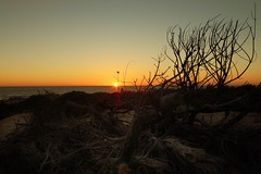 Sunset... (hobbit68) Tags: old sunset sky holiday beach clouds strand canon wasser sonnenuntergang outdoor sommer urlaub himmel wolken playa andalucia espana ufer sonne spanien sonnenschein ozean