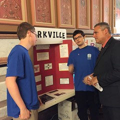 "AJ and Chase Talk with Representative Wheeler • <a style=""font-size:0.8em;"" href=""http://www.flickr.com/photos/109120354@N07/26513197164/"" target=""_blank"">View on Flickr</a>"