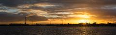 Sunset at Port Melbourne (Lamuel Chung) Tags: life sunset sky sun sunlight storm home wonderful magic australia melbourne victoria shore hour after