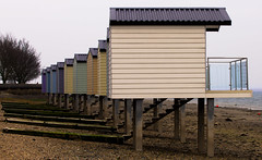Essex Beach Huts (15) (claire.pulman) Tags: building beach architecture seaside huts coastal area blackwater essex