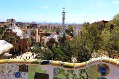 Park Gell - Barcelona (Damien ) Tags: barcelona park mosaic gaud parc antoni barcelone gell