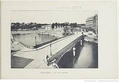 Fasc. 64, f. 4. Bayonne, le pont Mayort (Library ABB 2013) Tags: france album bnf franais bayonne nationallibraryoffrance bibliothquenationaledefrance 1890