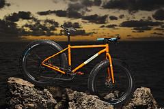 Oodnadatta Expedition (Macr1) Tags: camera sunset sea copyright water bike bicycle lens outdoors cycling coast nikon mountainbike australia location shore mtb wa geography aus westernaustralia peron conditions oodnadatta afnikkor50mmf18d fatbike strobist pointperon d700 sb900 nikond700 markmcintosh macr237gmailcom markmcintosh waywardbicycleco