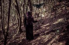 #283 of 365 days - Morrghean (Ruadh Sionnach) Tags: morrigan morrighan morrighean celtic godness druidic druid 3 faces three crow woman portrait model medieval bronze age celtics celt druidism druidi drudico deusa divindade idade do forest woods pagan wood valley paganism paganismo pag dark darkness