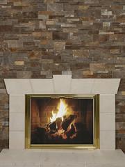 Walnut Tailored Ledgestone (Buechel Stone) Tags: stone fireplace hearth mantel naturalstone stonemasonry ledgestone cutstone buildingstone stoneveneer thinveneer stonesurround buechelstone fullveneer cutstonesurround