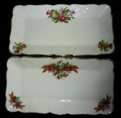 Vintage Scottish Trays 165/366 (Bebopgirl1969) Tags: vintage ceramics tray