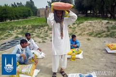 Islamic Relief's Ramadan food distribution in Behsood Nengarhar, Afghanistan.