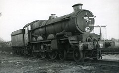 img131 (OldRailPics) Tags: castle british railways oswestry 7033 hartlebury