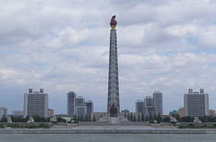 Juche Tower (Daniel Brennwald) Tags: northkorea pyongyang dprk juche nordkorea juchetower pjngjang