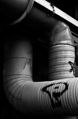DSC_1221-3 (Jiiv3e) Tags: world bridge canada ice home hockey silver finland 50mm gold nikon industrial russia walk rovaniemi nintendo under pipe super mario adventure wc vanha silta cuo