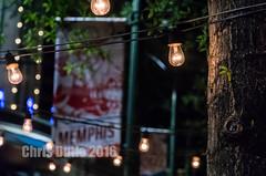Memphis (montusurf) Tags: light bulb night restaurant cafe memphis tennessee