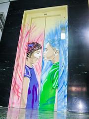 Elevador (D11 Urbano) Tags: boy art girl poster stencil arte venezuela nios caracas urbano elevador venezolano plazavenezuela arteurbano d11 streetartvenezuela artvenezuela d11streetart arteurbanovenezuela d11art d11urbano