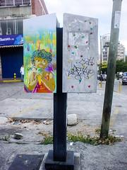 Sweet cream (D11 Urbano) Tags: color art stencil arte venezuela caracas icecream urbano venezolano arteurbano d11 streetartvenezuela artvenezuela d11streetart arteurbanovenezuela d11art d11urbano
