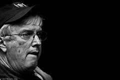 Huh ! I wasn't expecting that. (Neil. Moralee) Tags: old portrait white toronto canada man black monochrome face hat blackbackground dark mono glasses nikon close candid wide neil mature surprise scowl frown wrinkles unexpected d7100 moralee