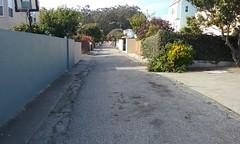 development with service alley (sftrajan) Tags: sanfrancisco california alley urbanism subdivision oceanavenue mercedmanor