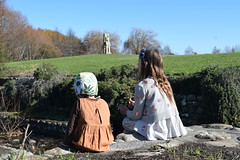 Hugo and Sadie (Heart felt) Tags: winter light newzealand children masterton earlyspring wairarapa springiscoming henleylake