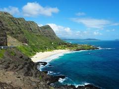Makapu'u Lookout (jenesizzle) Tags: oahu hawaii island paradise ocean beach outdoors landscape cliffs makapuu view makapuulookout