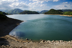 Zaovine lake from the dam, Serbia (Andrey Sulitskiy) Tags: serbia zaovine