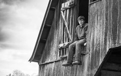 (Emwilson_photography) Tags: pictures camera wood trees boy sky blackandwhite white storm man black guy art love nature senior loft barn photography photo nikon country picture dslr seniorpictures blackandwhitephotography countryboy plad dslrcamera countrypictures nikond3100