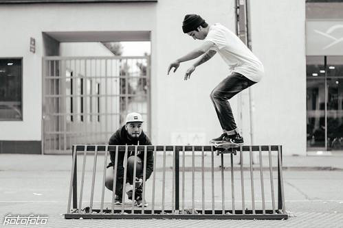 Rafa Galaz - Boardslide to 50-50