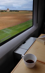Train matinal - Early Train (blafond) Tags: morning coffee café train ave palomar expresso matin renfe villaflores
