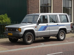 1986 Isuzu Trooper (harry_nl) Tags: trooper netherlands nederland import icar zaandam isuzu 2014 isuzutrooper sidecode7 54xvj3