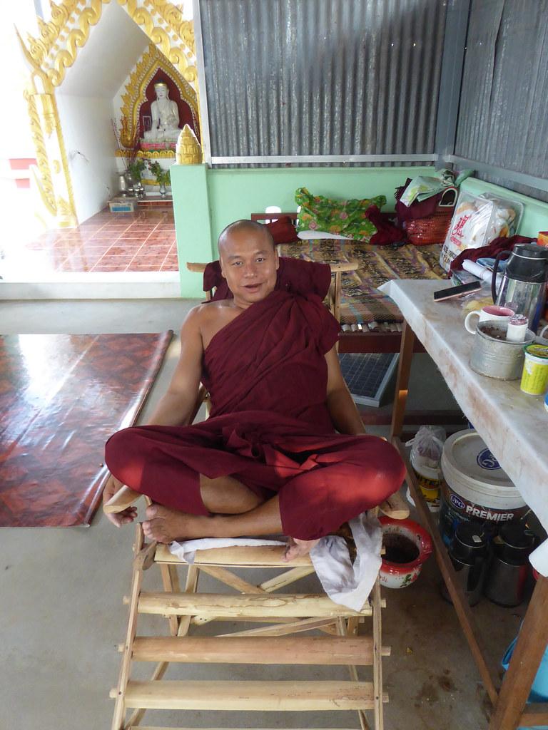 A happy Monk