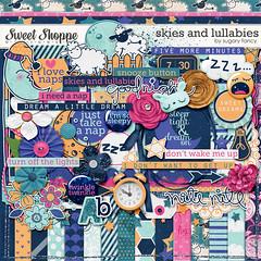 Sugary Fancy - Skies And Lullabies (misshappy80) Tags: lamp blauw slaap geel droom slapen roze paars dromen schaap maan wekker schaapje sugaryfancy