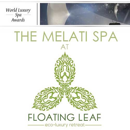 It gives us great pleasure to announce that the MELATI SPA AT FLOATING LEAF ECO-LUXURY RETREAT has been nominated to receive an Award for service excellence in the 2016 World Luxury Spa Awards from the world's leading Awards initiative for Luxury Spas. #s