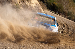 Subaru Impreza WRX STi (robktkate) Tags: newzealand car speed nikon rally racing dirt gravel motorsport d5000 nikond5000 2015rallyofcanterbury